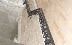 Custom made wrought railings, rails, railing